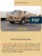 Accident Avoidance Drivers- Power Point Presentation