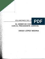 Diego López - Eslabones del derecho