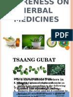 Awareness on Herbal Medicines