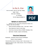 Teresirta Joy Cruz Resume 1
