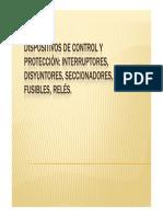 6 Dispositivos de Control y Protección