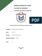 INFORME DE LABORATORIO N° 6 Medida del Coeficiente de Dilatacion Lineal.docx