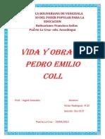 vida y obra de Pedro Emilio Coll.docx