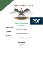 UNIVERSIDAD ANDINA DEL CUSCO ESTRUCTURA DE DATOS.docx