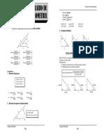 Formulario Trigonometria 1