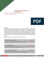 Discurso y representaciones de estudiantes de bacteriología y trabajo social
