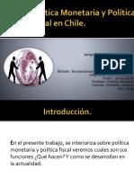 Política Monetaria y Política Fiscal en Chile.pptx