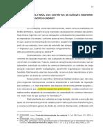 3 Extinção Unilateral Dos Contratos de Duração Indeterminada Nos Princípios UNIDROIT