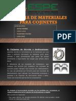 Materiales para cojinetes