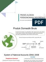 Proses Alokasi Perekonomian Indonesia