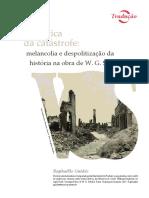 GUIDÈE, R. A política da catástrofe melancolia e despolitização na obra de  W G Sebald.pdf