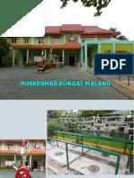 Tata Graha Puskesmas Sungai Malang