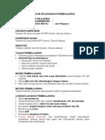 Teknik Penulisan RPP