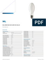 Light lamps ml250w Philips.pdf