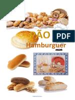 Receita Pão de Hamburguer