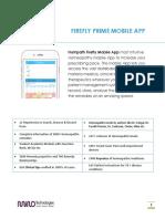 Firefly Prime Mobile App