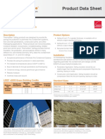 10019112 CavityComplete Thermafiber Fire Safing Product Data Sheet