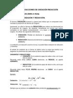 REDOX Reacciones- Balance Módulo Para TQI -PDF