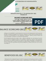 BSC Cuadro de Mando Integral.