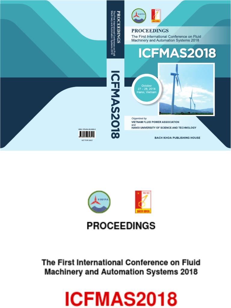 Icfmas2018 Proceedings 2018 10 27 28 Pdf Turbine Machines