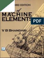 Design of Machine Elements 3rdEdition ByVBBhandari-1