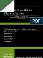 Síndromes Geriátricos Discapacitantes-trast Marcha