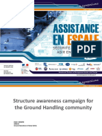 structure awareness campaign for the ground handling community