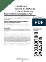 Historia y constitución de la Biblioteca y Mapoteca del Instituto de Geografía crecimiento, desarrollo y las transformaciones.pdf