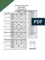 JADWAL PAT 2018-2019