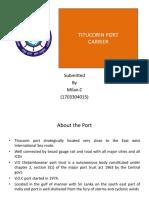 V.O.C Port Carrier