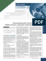 1º SEM Descentralizacion y DFinanciero II