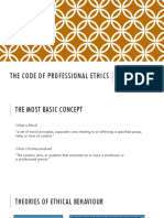 Code of Ethics for Professional Accountants [Autosaved]