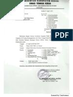 Undangan Sosialisasi PK'19
