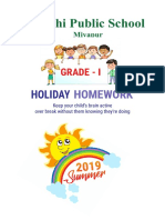 Holiday Home Work Grade - i