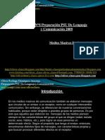 19149656 Presentacion N11 PSU de Lenguaje y Comunicacion Medios Masivos de Comunicacion