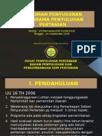 Tayangan Pedoman Penyusunan Programa Penyuluhan Pertanian-1