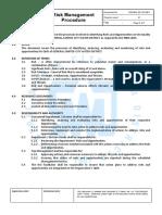 1.1 Risk Management Procedure1