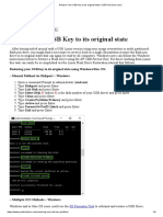 Restore Your USB Key to Its Original State _ USB Pen Drive Linux
