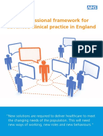 Multi-professional Framework for Advanced Clinical Practice in England