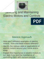 Amta4 8 Selecting and Maintaining Electric Motors and Controls