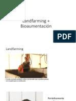 Landfarming + Bioaumentación