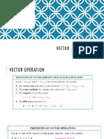 Vector function