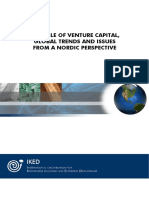 The Role of Venture Capital,Global Trends and Issues