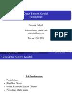 Sistem Kendali (Pemodelan).pdf
