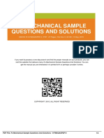 ID7748e092e-fe mechanical sample questions and solutions