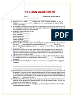 Loan Agreement Template 03