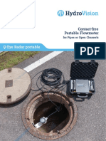 Brochure Q Eye Radar Portable Flowmeter English