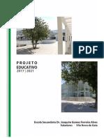 Projeto Educativo 2018/2021 Final