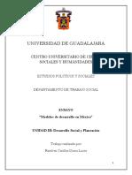 Modelos de desarrollo en México