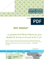 Dawah Among Social Groups